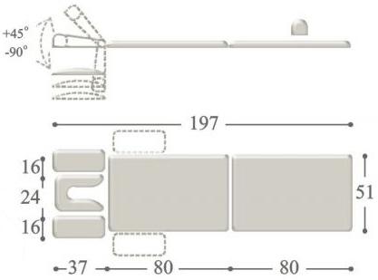 Раскладной массажный стол compact