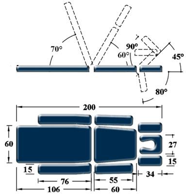 Массажный стол с 2-мя электроприводами на х-раме expert ― pro